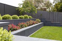 Ideas For Retaining Wall Landscaping Bistrodre Porch And Landscape inside Garden Retaining Wall Ideas wall ideas 10 Garden Retaining Wall Ideas, Stylish and also Beautiful Small Garden Retaining Wall, Backyard Retaining Walls, Retaining Wall Design, Concrete Retaining Walls, Sloped Backyard, Sloped Garden, Backyard Ideas, Porch Ideas, Landscape Walls