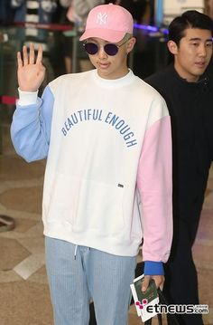 Please give me this sweatshirt and Rap Monster too of course