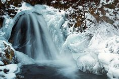 Winter Veil, Waterfall, Outdoor, Outdoors, Waterfalls, Outdoor Games, The Great Outdoors