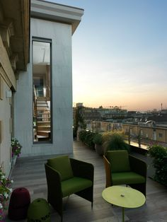 8&a architetti / attico con vista del doumo di milano Milano, Outdoor Decor, Home Decor, Environment, Italia, Modern, Decoration Home, Room Decor, Home Interior Design