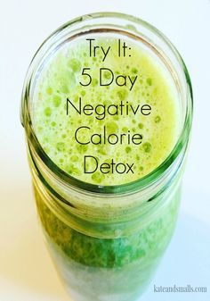 My journey on a 5 day Negative Calorie Detox. Three smoothies and one meal each day. I needed to get my sugar addiction under control, find out how it went.
