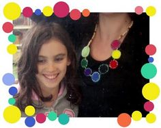 We Manuals: love this necklace made from felt!