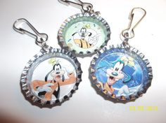 Goofy Zipper Pulls by ang744 on Etsy, $5.00