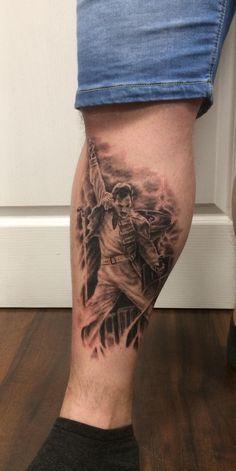 Freddy Mercury Queen Tattoo