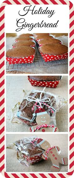 Holiday Gingerbread-Christmas gift idea