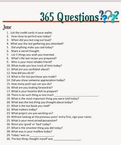 Doodlings: 365 Questions