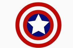 The Ultimate Marvel Fan Footed Pajamas Superhero Emblems, Superhero Logo Templates, Captain America Symbol, Captain Amerika, Famous Logos, Superhero Party, Captain Marvel, Marvel Heroes, Clipart