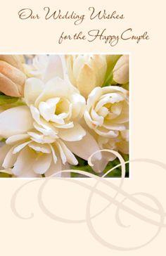 Winter wedding wishes blank greeting card pinterest m4hsunfo