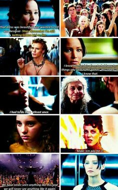I can't even function after seeing catching fire, they stuck to the script PHENOMENALLY but honestly the entire thing was just amazing