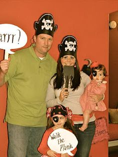 "Pirate ""photo booth"" aarrgh sign"