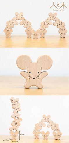 15 animales de la Choo Choo Compañía Acrobática [Edad recomendada: desde que tenía 2 años de edad] | | juguetes, muñecas personas y de madera | pedidos por correo a mano y ventas Creema #woodentoy