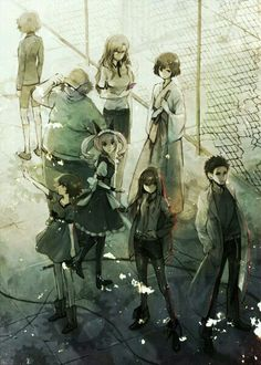 Steins;Gate: (this...was actually a great show. One of the few animes I watched straight through, EAGERLY, in the past few years. For the most part recent anime has been boring me, but this one is based on a visual novel, so...)