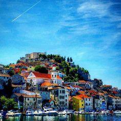 Sibenik, Croatia via @mmeganelizabeth