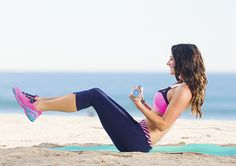 Busy Babe Abs: 6 Core Tightening Exercises!