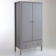 Armoire 2 portes, 1 tiroir, Emma La Redoute Interieurs