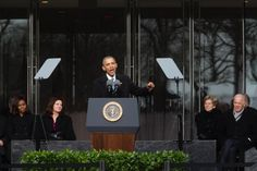 President Obama Speaks at the New Edward M. Kennedy Institute in Boston
