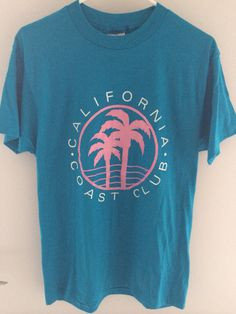 Vintage 1990s California Coast Club T-shirt on Etsy, $25.00