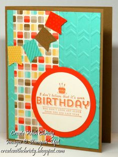 Stampin' Up! See Ya Later and Banner Blast - Christy Fulk, Stampin' Up! Demo