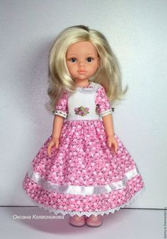 Одежда для кукол ручной работы. Платье для куклы Paola Reina «Малышка Рози». Оксана Колесникова. Ярмарка Мастеров.
