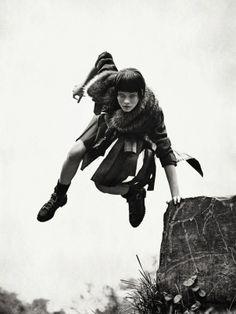 #IrinaKravchenko by #SebastianKim for #VogueUkraine October 2013