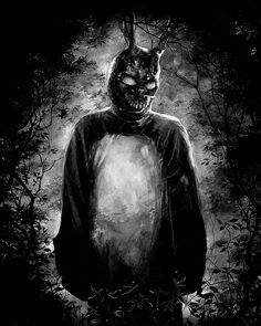 Available in: Blu-ray. Donnie Darko (Jake Gyllenhaal) is a bright and charming high-school student who also has a dark and willfully eccentric side: He Streaming Movies, Hd Movies, Horror Movies, Movies Online, Hd Streaming, Movie Film, Donnie Darko Frank, Donnie Darko Rabbit, Noah Wyle