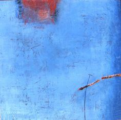 Abstract paintings by Peggy Hinaekian