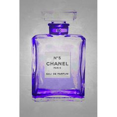 Found it at Wayfair - Chanel No. 5 in Chic Lavender Giclee by Kelissa Semple Graphic Art on Canvas