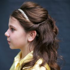 Magnificent Belles Beauty And The Beast Hairstyle Tutorial Half Up Half Hairstyle Inspiration Daily Dogsangcom