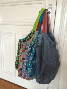 Lillesol und Pelle: Elternzeit-Blog-Vertretung: Draußen nur Kännchen/ Tutorial Gurtband an Taschen nähen