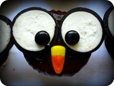 Owl Themed Party Food