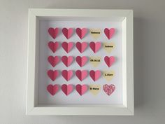 Image of Hearts - Small - Pink Confetti