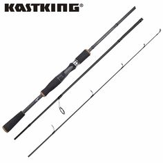 KastKing Perigee Portable Spinning Fishing Rod with 2 Tips MF Action Ultralight Carbon Fiber Casting Lure Fishing Rod