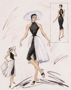 Best Fashion Illustration Vintage Hollywood Glamour Costume Design Ideas Source by illustration Hollywood Glamour, Vintage Hollywood, Mode Hollywood, Hollywood Fashion, Costume Design Sketch, Best Costume Design, Fashion History, Fashion Art, Retro Fashion