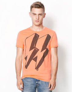 Bershka United Kingdom - Pictogram print T-shirt