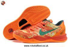 2014 Fire Flame 2013 Basketball Shoes Style Nike Zoom Kobe 8 (VIII) 555035-800