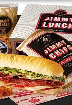 We are all fond of a Jimmy John's delivery for lunch! They get to us in scary, speedy time!
