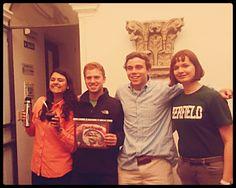 ...cómo estos cuatro estudiantes de Deerfield ganaron la competencia del mejor mate de junio 2013.