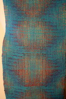 Random Acts of Color: Just Off the Loom: 12-Shaft Double Weave {4cdw) from Stubenitsky's Echo and Iris