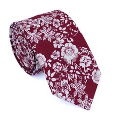 Clearance Item - Final Sale We pride ourselves in offering our customers some of the best skinny ties money can buy. Each DAZI tie is handmade from high quality imported fabrics. wide at the tip Approx. in length Cotton Ron Burgundy, Wedding Ties, Wedding Shit, Wedding Advice, Red Wedding, Wedding Bells, Wedding Planning, Skinny Guys, Outfits