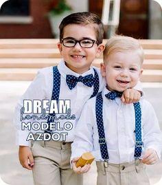 tirantes, bow tie. para niños!!!