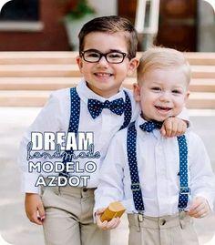 tirantes, bow tie. para niños!!! Toddler Outfits, Baby Boy Outfits, Kids Outfits, Baby Boy Fashion, Kids Fashion, Wedding Outfit For Boys, Baby Boy Dress, Page Boy, Bridesmaids And Groomsmen