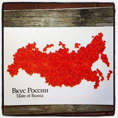 2013-06-07 #Postcard from #Russia (RU-1754630) via #postcrossing #caviar #Padgram