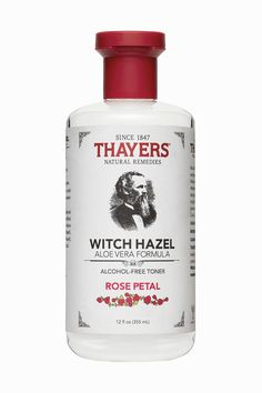 Thayers Rose Petal Alcohol-Free Witch Hazel with Aloe Vera Formula Toner will make your skin bloom.