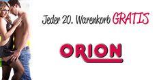 jede 20. Bestellung bei Orion GRATIS #gratis #orion #gutscheinlike #gutschein #sale #shops #onlineshops #rabatt