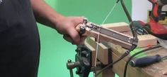 How to Build an Advanced Wooden Pistol Crossbow That Shoots Bolts « Specialized Weapons