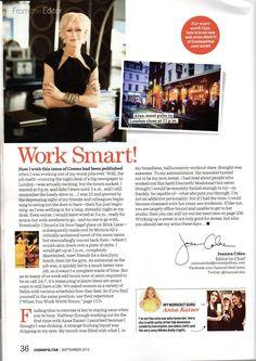 @Anna Kaiser @Joanna Coles @Cosmopolitan #checkitout