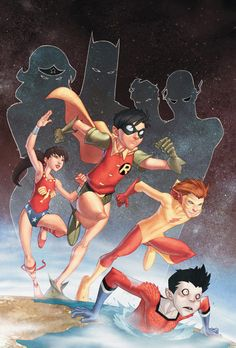 amazing. DC Comic Art