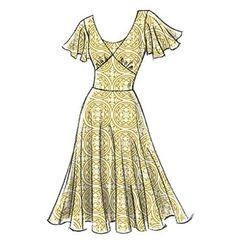 Fashion design sketches 474918723191808897 - Patron de robe – Vogue 8470 Source by Dress Design Sketches, Fashion Design Drawings, Fashion Sketches, Fashion Drawing Dresses, Dress Drawing, Miss Dress, Vogue Patterns, Mode Vintage, Fashion Sewing