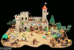 PLAYMOBIL Medieval Grand Royal Kingdom, Castle Knights Garden Forest Hunters | eBay