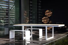 SEREX (Belbium) --  Serex purchased Colect, the Belgian manufacturer of design tables. This is one of them.